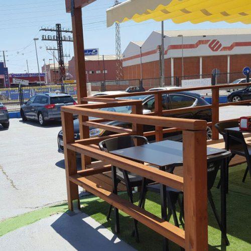 Restaurant Ben Fart Terrassa i Pàrquing