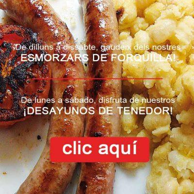 Ben Fart Esmorzar Forquilla Tarragona
